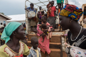 85% of South Sudanese refugees crossing the border were women and children. They arrived telling stories of soldiers attacking civilians and looting property.
