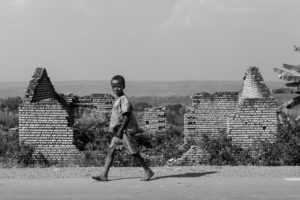 The government has stopped construction and repair of houses in the refugee camp, urging Tutsi households to reintegrate with Hutu families.